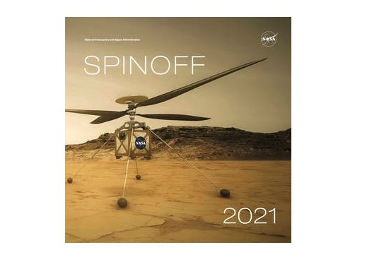 The redesigned 2021 NASA Spinoff publication features dozens of NASA innovations improving life on Earth. Credits: NASA