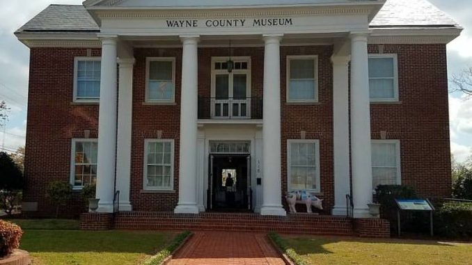 The Wayne County Museum in Goldsboro, North Carolina. Source: Jennifer Kuykendall