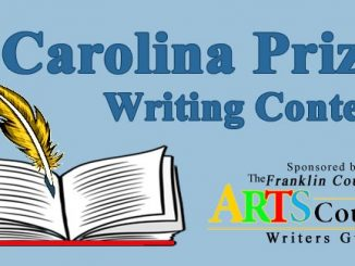 The annual Carolina Prize Writing Contest. Source: Kim Beall, Franklin County Writers' Guild