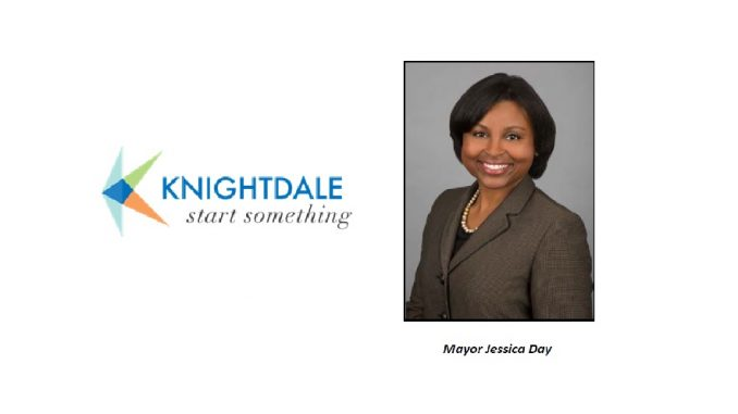 Knightdale Mayor Jessica Day. Source: Jonas Silver, Town of Knightdale
