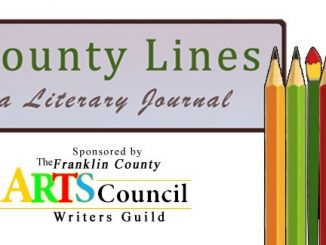 County Lines: A Literary Journal. Source: Kim Beall, Franklin County Writers' Guild