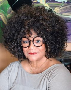 "Poet Jaki Shelton Green will Judge this year's Carolina Prize writing contest ""Poetry"" entries. Source: Franklin County Arts Council Writers' Guild"