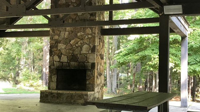 FCAC Writers' Guild will hold a Retreat & meeting at Falls Lake, Shelter 23. Photo: Donna Campbell Smith