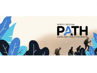 PATH graphic with hikers. Source: NC Department of Natural and Cultural Resources