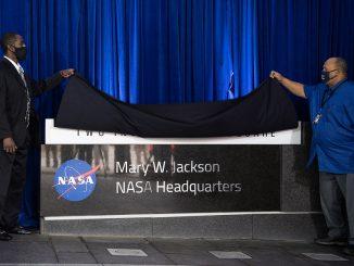 Mary W. Jackson NASA Headquarters Naming Ceremony