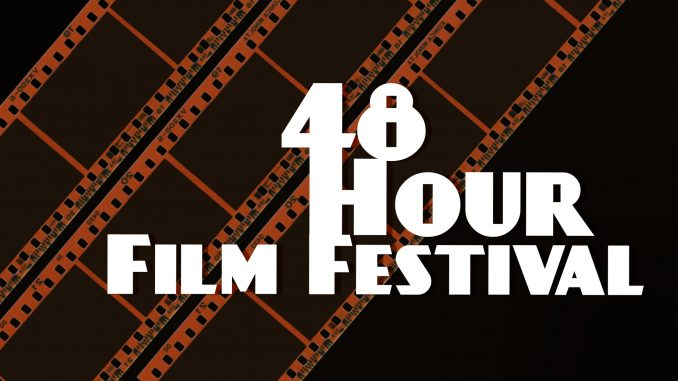 48 Hour Film Festival logo. Source: The Theatre at the Imperial Centre for the Arts and Sciences, Rocky Mount, North Carolina