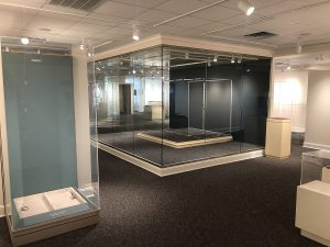 Display cases post-remodel. Source: Ashby Brame, Johnston County