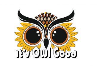 It's Owl Good exhibit logo. Source: Airlie Gardens