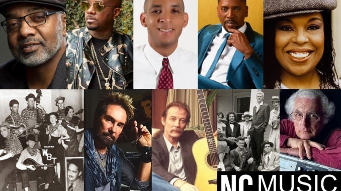 2020/2021 inductees. Source: Veronica Cordle,NC Music Hall of Fame & Museum
