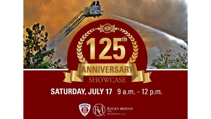 125th Anniversary Celebration. Source: Rocky Mount Fire Department