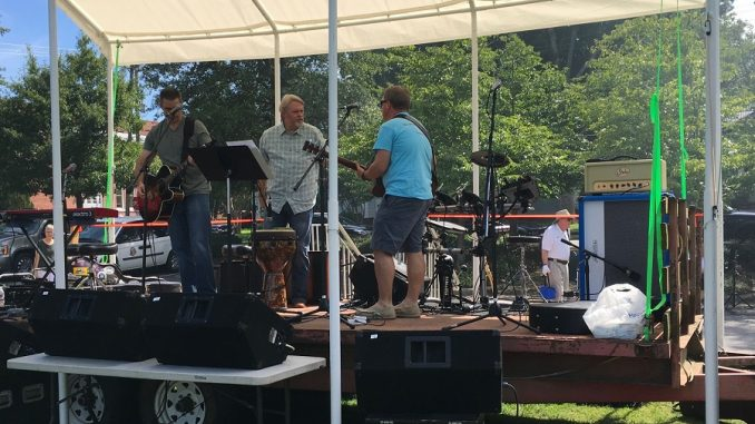 Musicians at previous Faith Fair on the Square. Source: Melissa Dooley