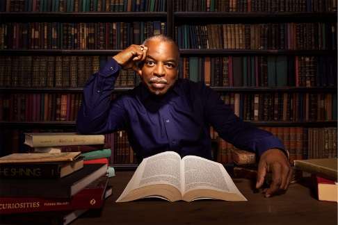 """LeVar Burton will host the special """"Open a Book, Open the World: The Library of Congress National Book Festival"""" premiere Sept. 12, 2021 on PBS. Photo: Robyn Von Swank"""