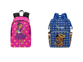 Backpack and diaper bag. Source: Pretty Dope Society