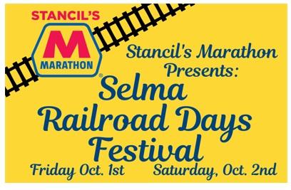 Selma Railroad Days Festival 2021. Source:Town of Selma, NC