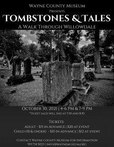 Tombstones and Tales 2021. Source: Wayne County Museum, Goldsboro, North Carolina
