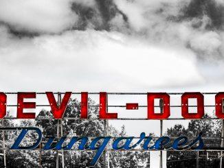 DEVIL-DOG Dungarees sign, Zebulon, North Carolina. Source: Stephanie Newman